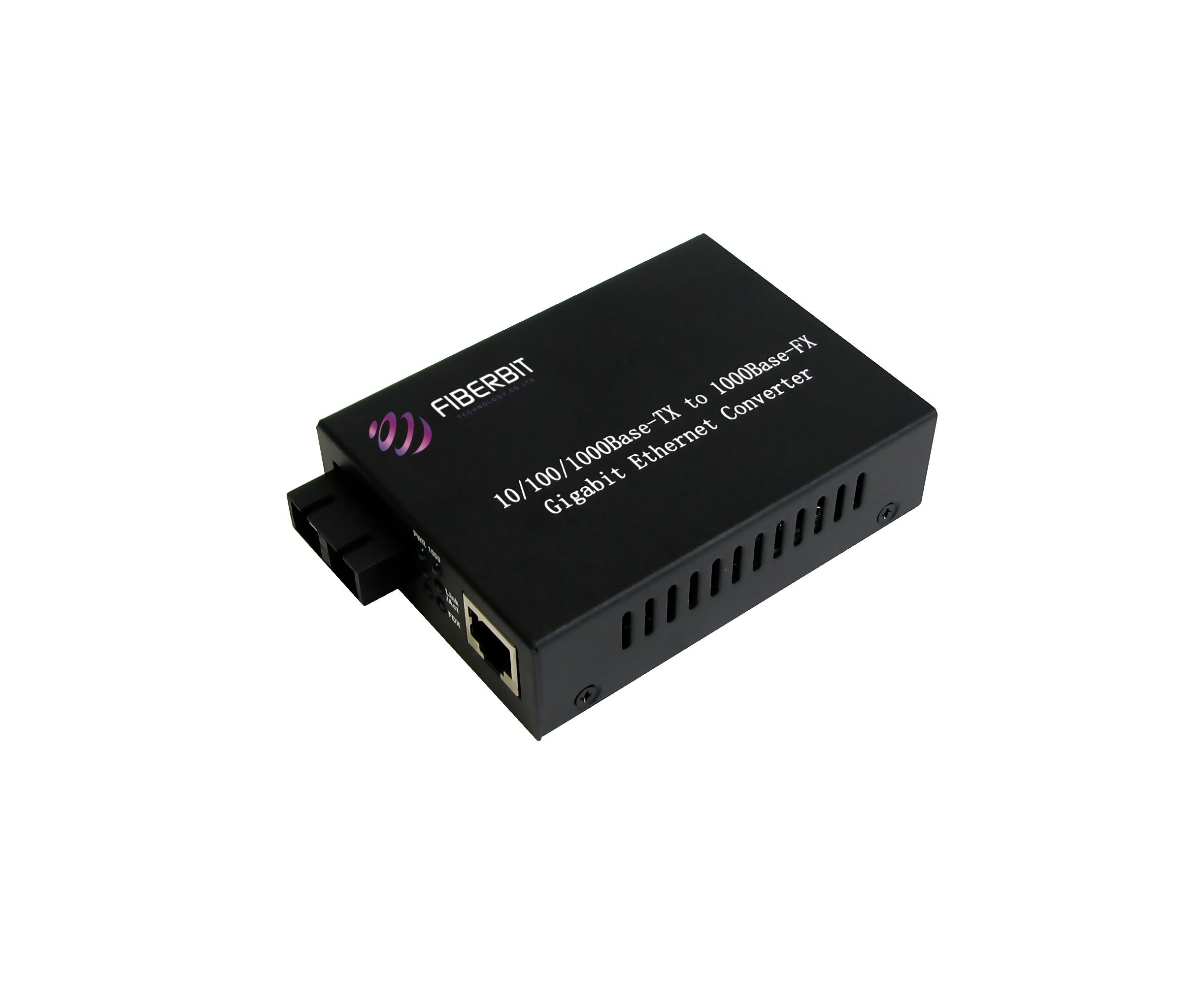 Gigabit Fiber Media Converter