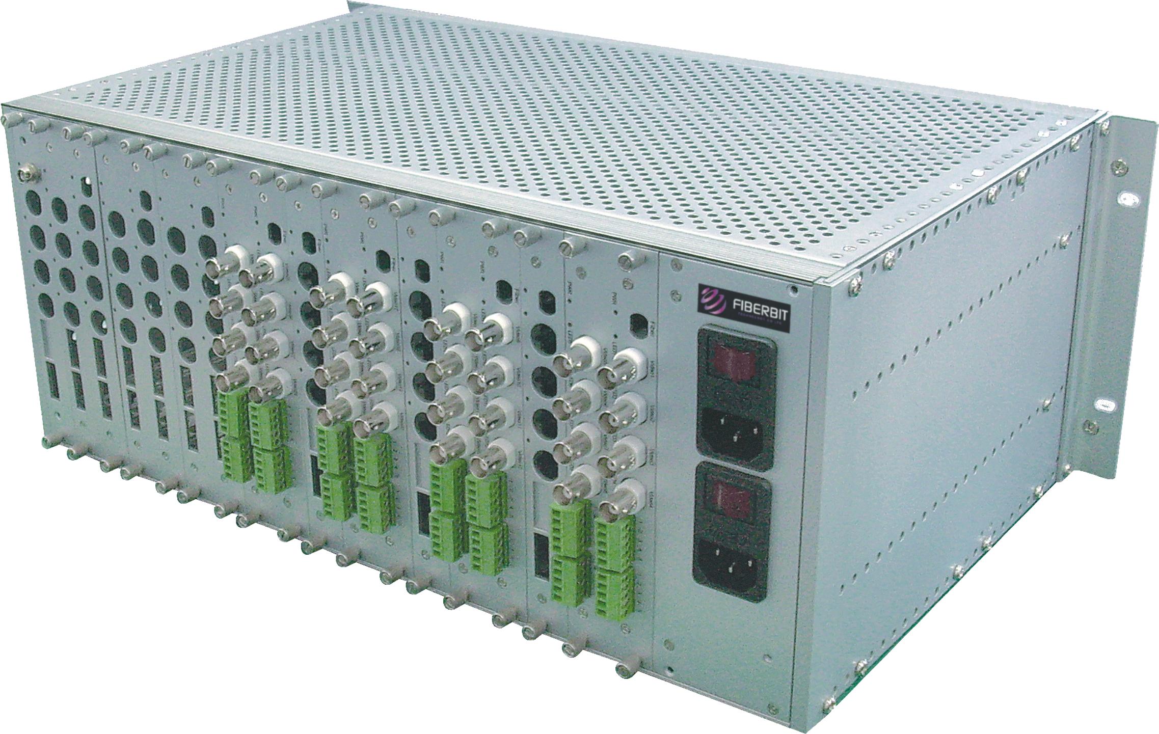 32 Video Ports to Fiber Optic Converter
