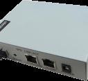 EPON ONU with 1 port Fast Ethernet and 1 port Gigabit Ethernet