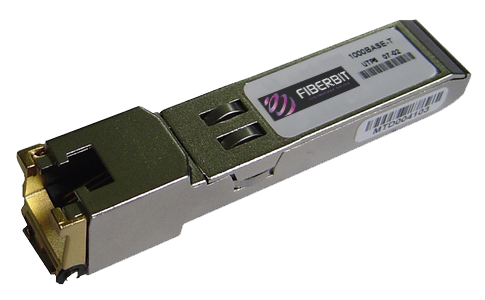 Copper 10/100/1000BaseT SFP Transceiver