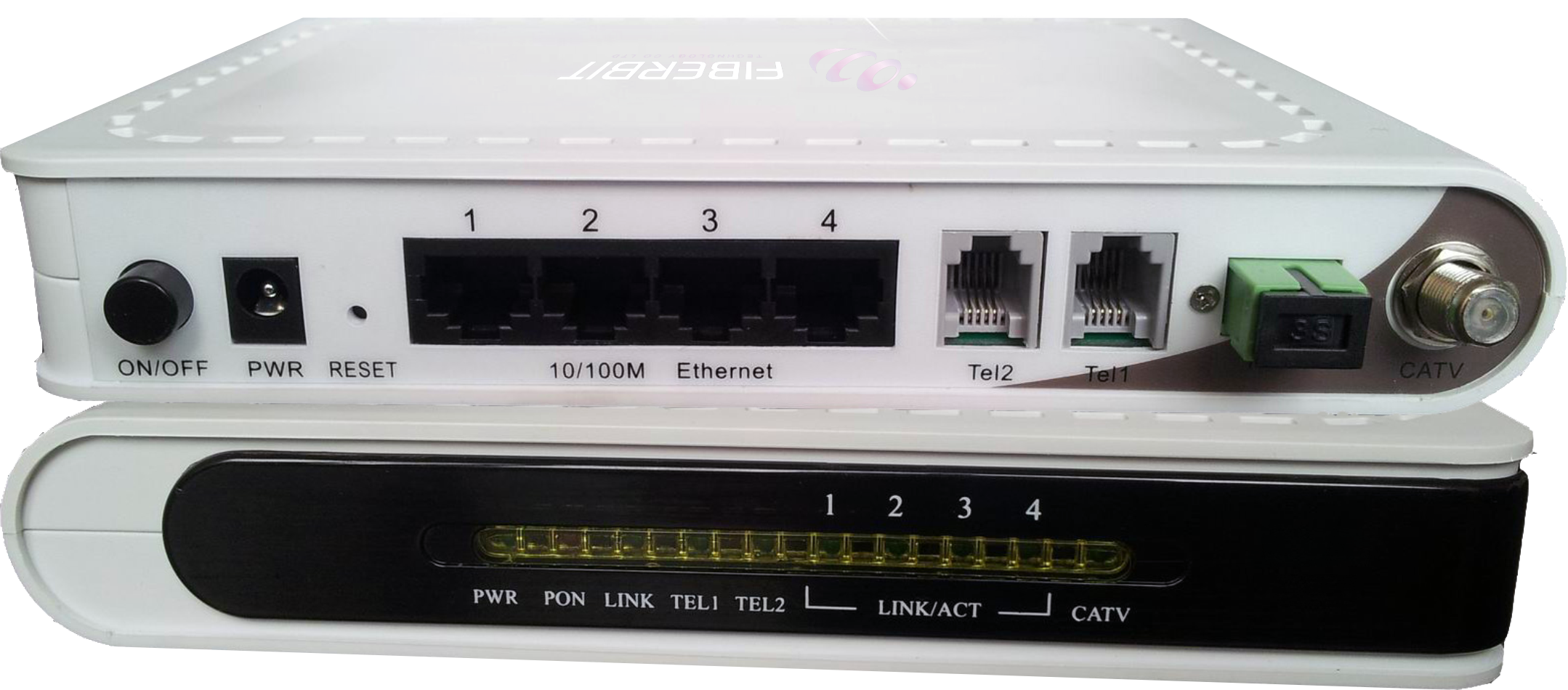 Triple Play ONU for FTTH – 4 Ethernet 2 Voice FXS and 1 CATV ports