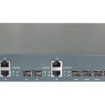 EPON OLT 4 PON ports and 2 SFP + 2 GE electric ports