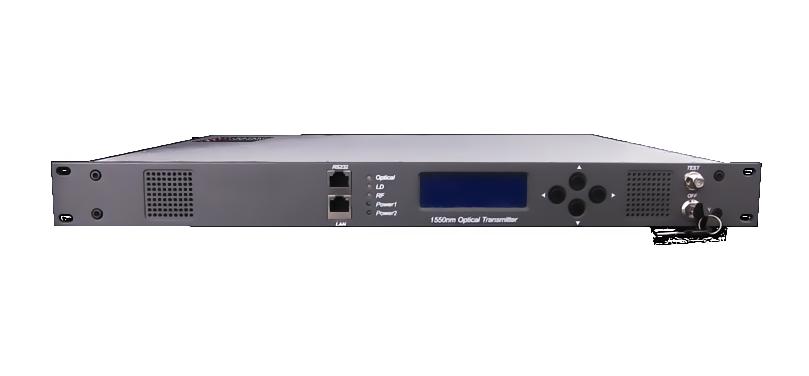 1550 nm 2-way (VOD) CATV external modulation fiber optical transmitter