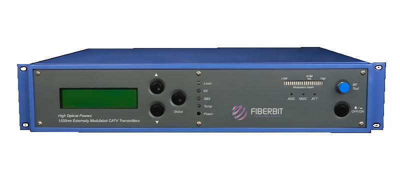 Built-in EDFA based CATV Fiber Transmitter