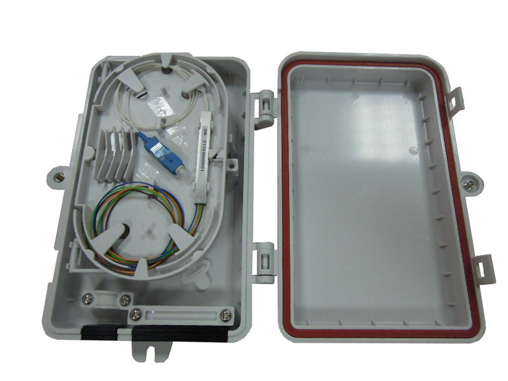 Outdoor 1:2 & 1:4 Optic Fiber Splitter solution