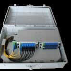 Outdoor 4 x 1:8 or 2 x1:16 or 1:32 Optic Fiber Splitter solution