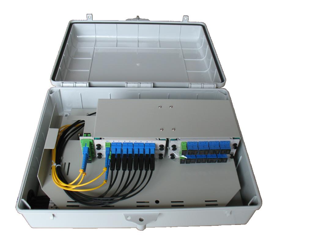 Outdoor 4 X 1 8 Or 2 X1 16 Or 1 32 Optic Fiber Splitter