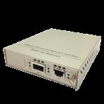 XFP to UTP 10G Media Converter