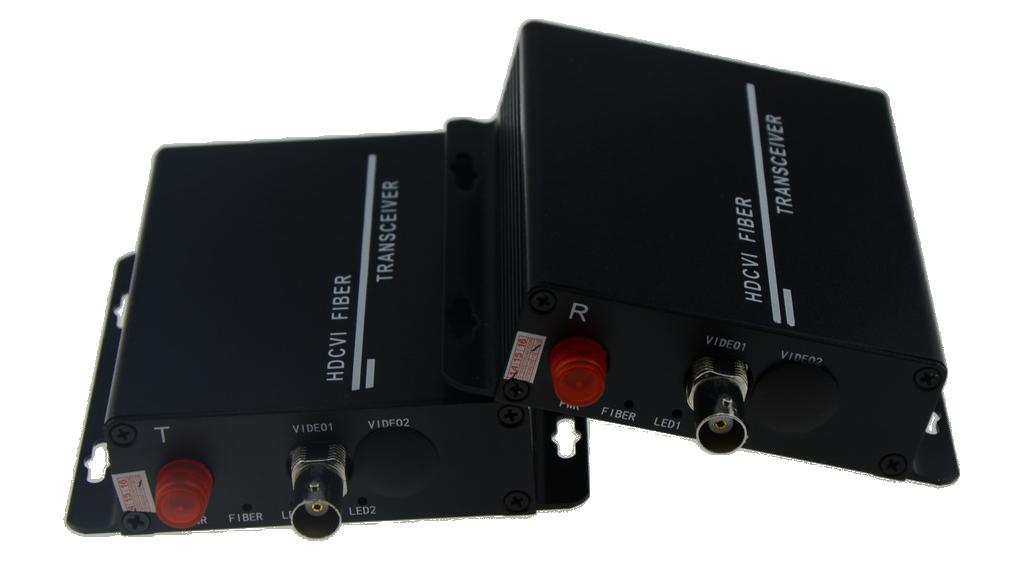 HD-1/2/4/8V HDCVI to Fiber Converter
