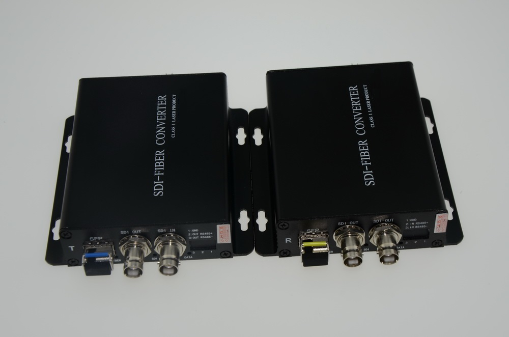 HD SDI to fiber converter